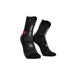 Compressport Skarpetki do biegania Racing Socks v3.0 trail smart black