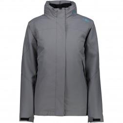 CMP kurtka damska Jacket Zip Hood grey