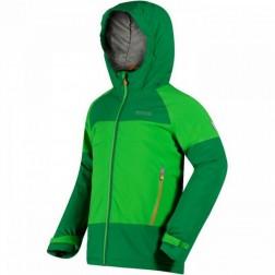 Regatta kurtka dziecięca Aptitude II green