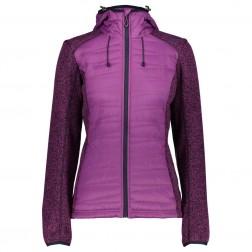 CMP kurtka damska Fix Hood Hybrid purple