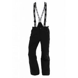 CMP spodnie narciarskie męskie black szelki