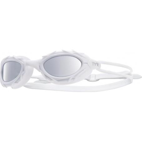 TYR okulary pływackie Nest Pro Metallized white
