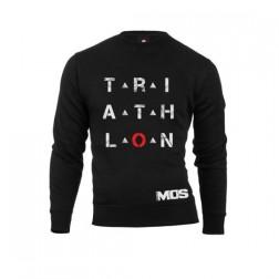 MOS bluza Triathlon unisex czarna