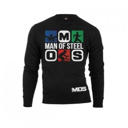 MOS bluza Man Of Steel unisex czarna