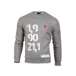 MOS bluza Pół Ironman unisex szara