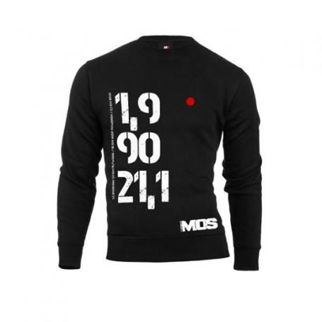 MOS bluza Pół Ironman unisex czarna