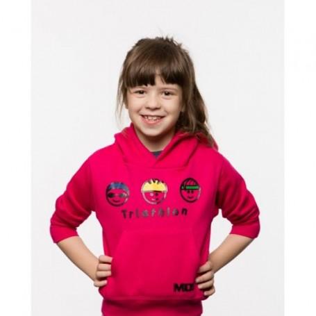 MOS bluza dziecięca Główki różowa