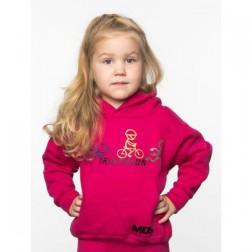MOS bluza dziecięca Rowerek różowa