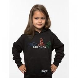 MOS bluza dziecięca Rowerek czarna