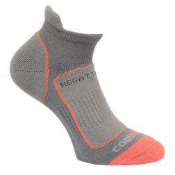 Regatta Skarpety damskie trail runner sock szare/róż