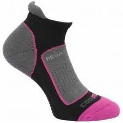 Regatta Skarpety damskie trail runner sock czarny/róż