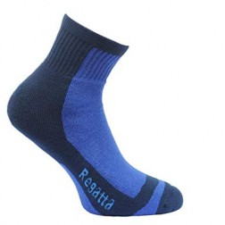 Regatta Skarpety dziecięce Coolmax Trek & Trail Sock blue