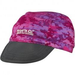 Regatta czapka dziecięca PackIt Peak pink/blue