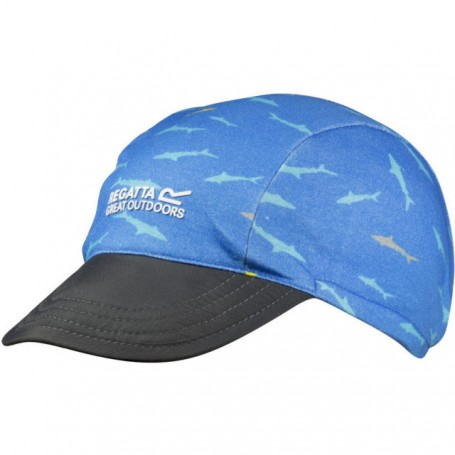 Regatta czapka dziecięca PackIt Peak blue/blue