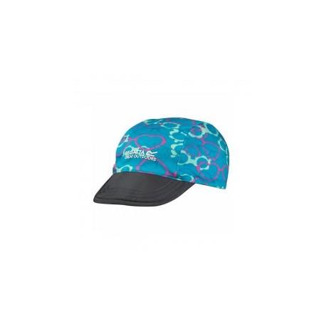 Regatta czapka dziecięca PackIt Peak pink/blue heart
