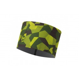 Buff Opaska Tech Fleece Headband Block Camo Green