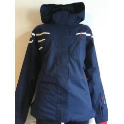 CMP kurtka damska Zip Hood Jacket granatowa