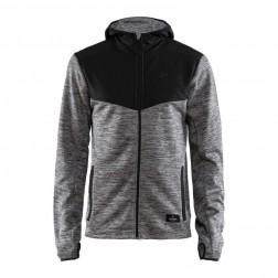 Craft bluza męska Breakaway hood szara