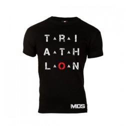 MOS damska koszulka Triathlon czarna